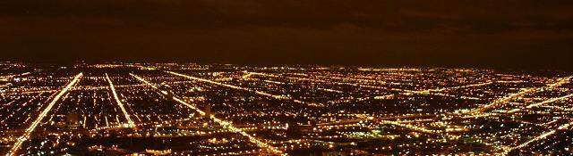 serata di noia città di notte